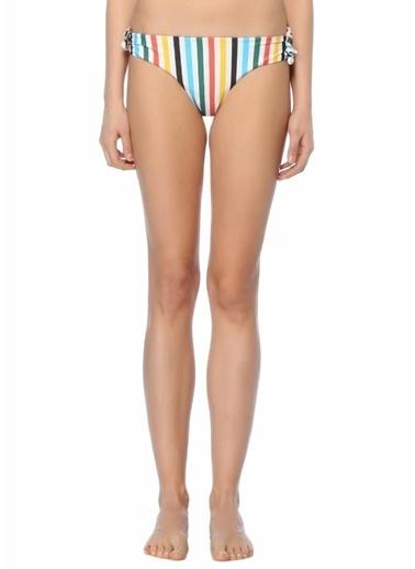 Rye Çizgili Bikini Altı Renkli